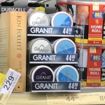 Granit pusherdisplay 2x3 Netto
