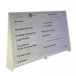 Quoteboard 2500x1500mm