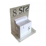 8-SRS serum display