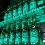 Heineken væg