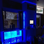 LED belysning Showroom