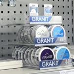 Granit pusherdisplay