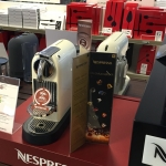 Nespresso 3 fløjet skilteholder