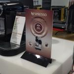 Nespresso skilteholder
